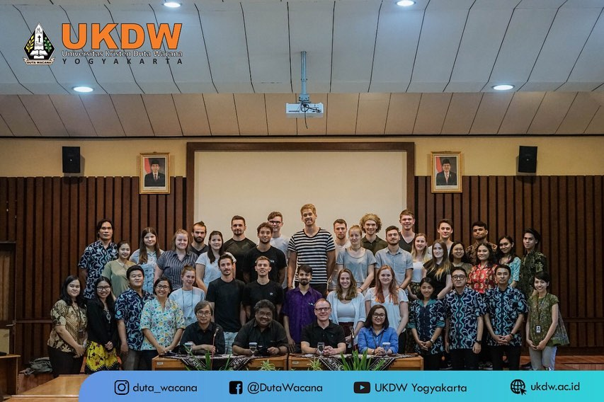 Student Visit and Discussion: Rural and Urban Development in and around Yogyakarta