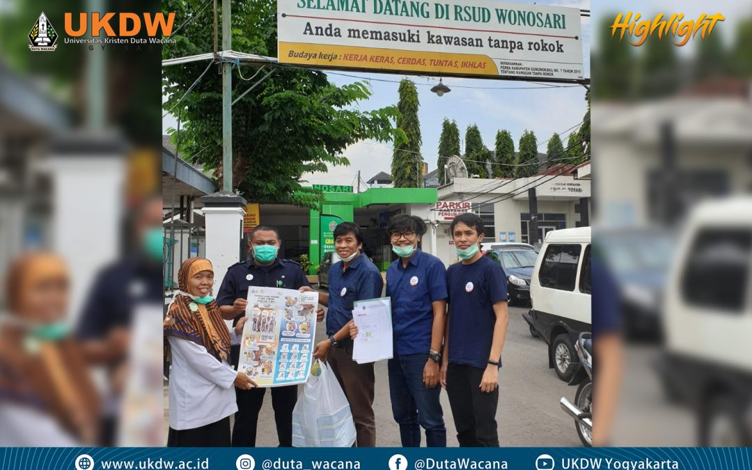 UKDW Distributes Surgical Masks to Hospitals