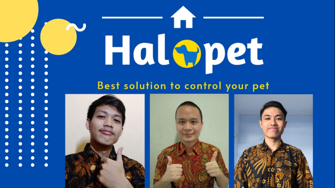 Halopet App, SI UKDW Team Grabs 2nd Place in ENF 2020