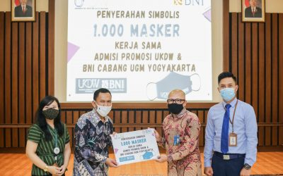 UKDW and BNI to Distribute 1,000 Face Masks