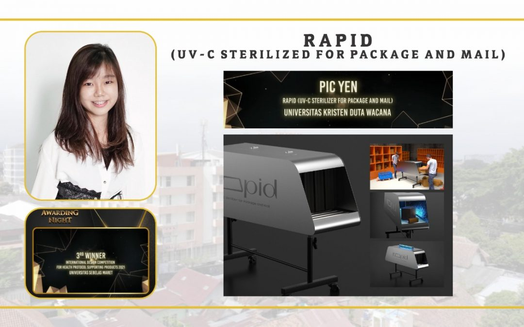UKDW Student Grabs 3rd Place International Design Competition