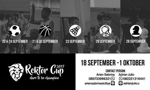 Rektor Cup 2017