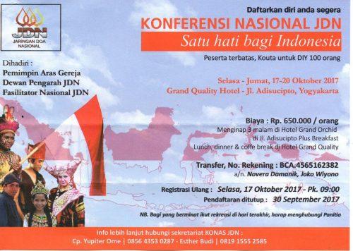 Konferensi Nasional JDN