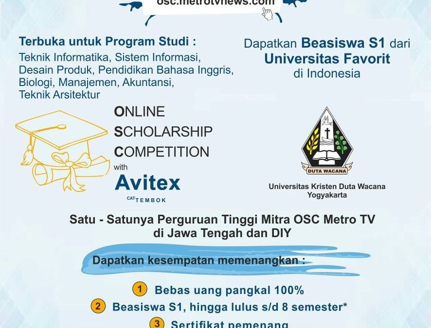 Online Scholarship Competition 2017
