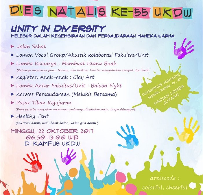 Family Day Dies Natalis ke-55