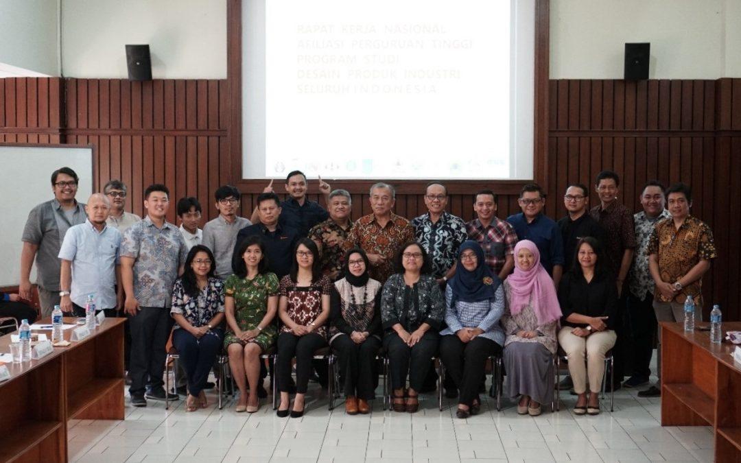 Rakernas Afiliasi Prodi Desain Produk di Indonesia