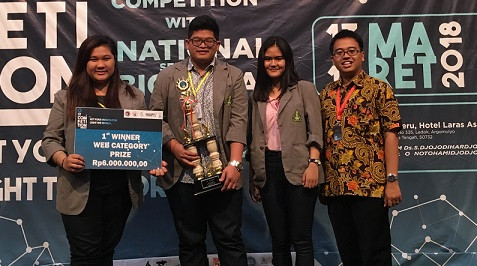 SI UKDW Juara FIT Competition 2018