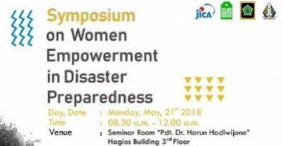 Symposium on Women Empowerment in Disaster Preparedness