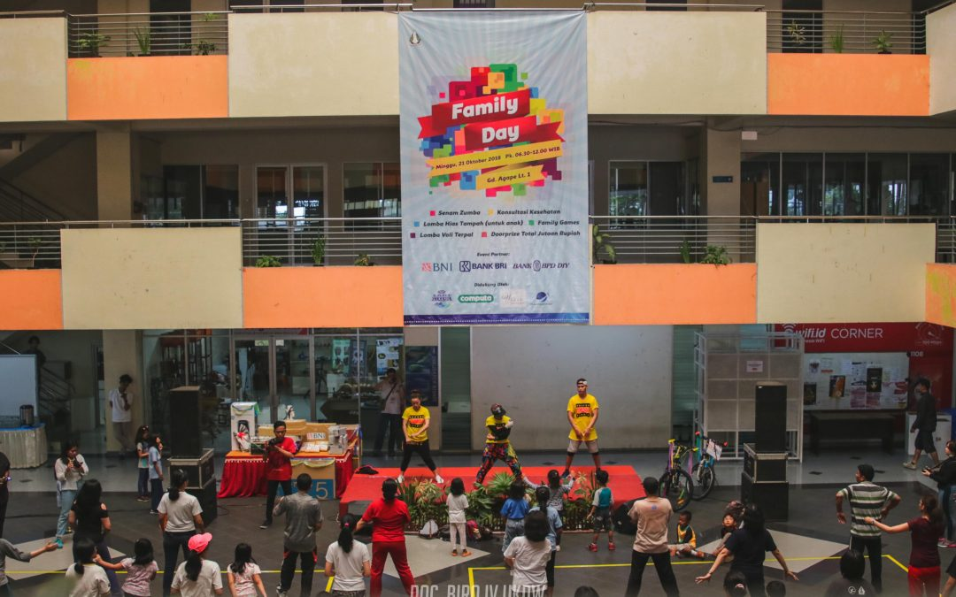 Zumba Ramaikan Family Day 2018