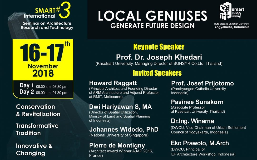 Seminar on Architectural Research and Technology
