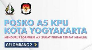 Posko A5 KPU Kota Yogyakarta