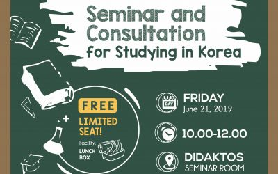 Seminar and Consultation for Studying in Korea