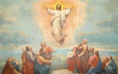 Yesus Naik ke Surga. Ah, Aku Lega!