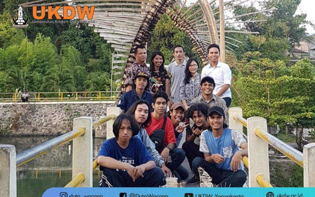 Mahasiswa Arsitektur Percantik Kampung Wisata Yogyakarta