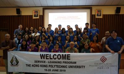 The Hong Kong Polytechnic University Ikuti ISL di UKDW