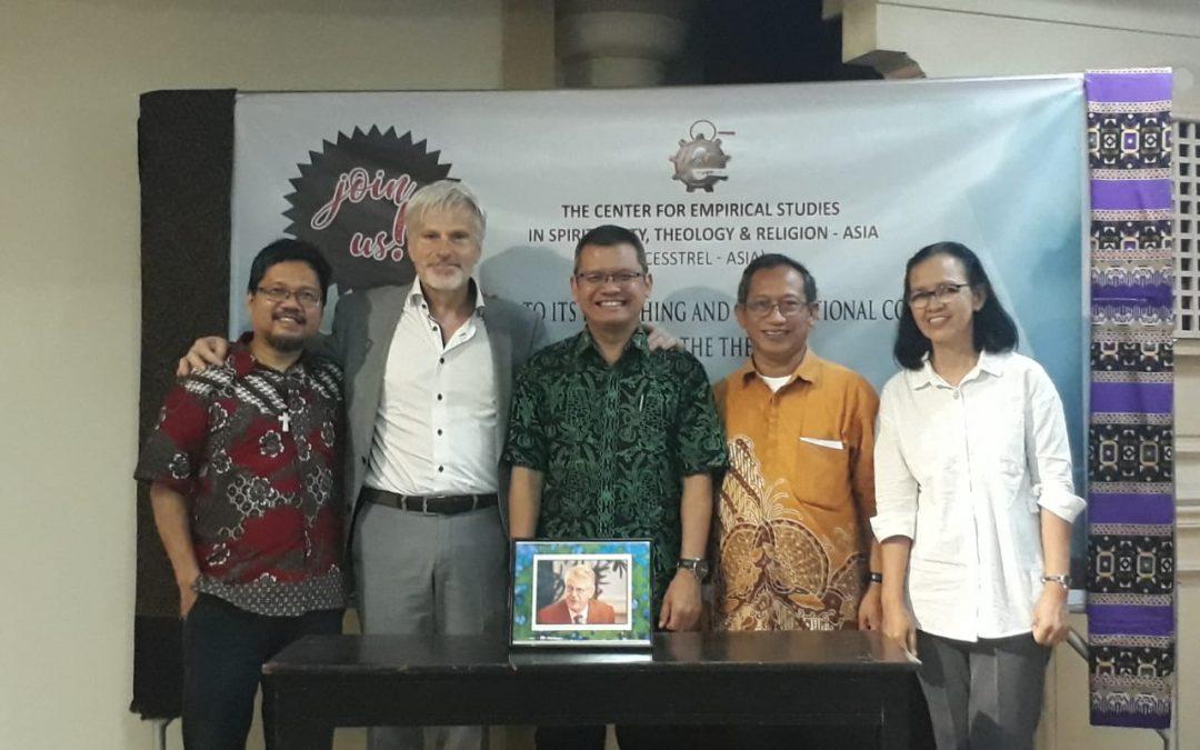 F. Teologi UKDW Ambil Bagian dalam Launching CESSTREL – ASIA