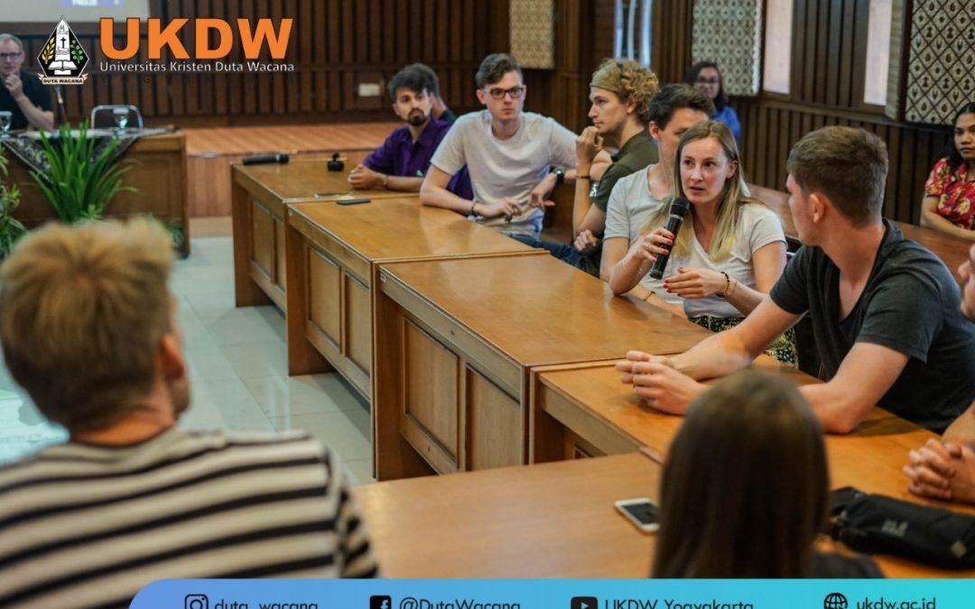 UKDW Yogyakarta Terima Kunjungan University of Marburg Jerman