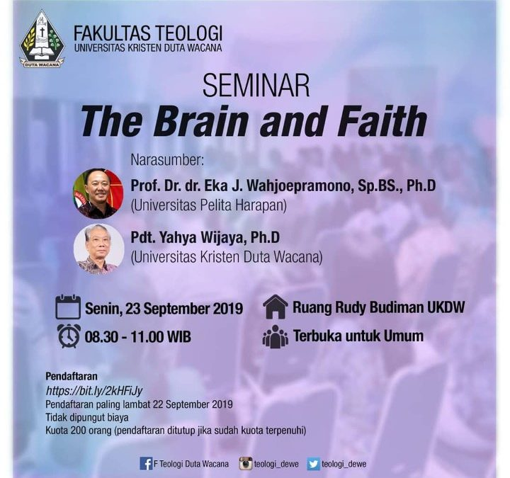 Seminar The Brain and Faith