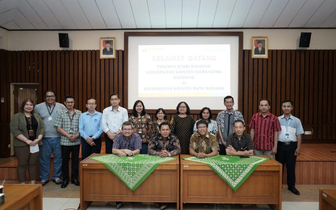 UKDW Terima Studi Banding dari Universitas Kristen Maranatha