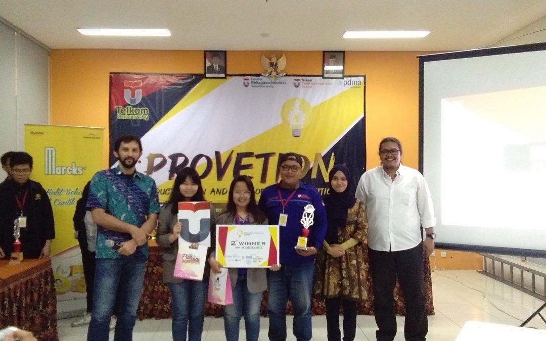 Tim Plekdong UKDW Sabet Juara 2 Provetion 2019