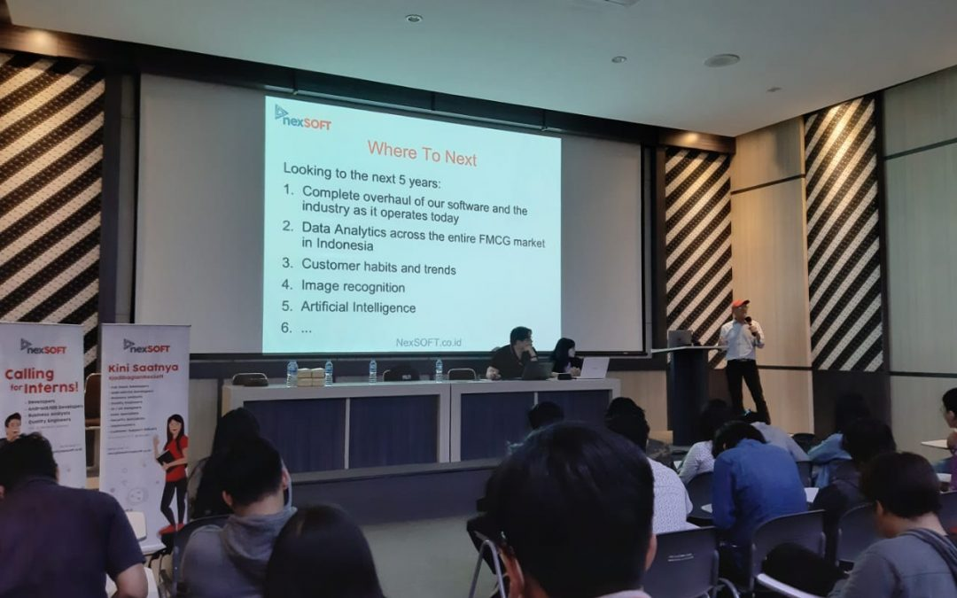 FTI UKDW Gelar Kuliah Umum bersama NexSoft