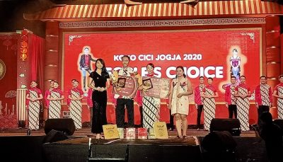 Mahasiswa UKDW Raih Cici Jogja People's Choice Award