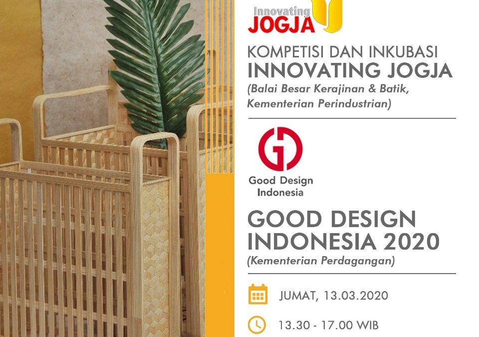 Kompetisi & Inkubasi Innovating Jogja