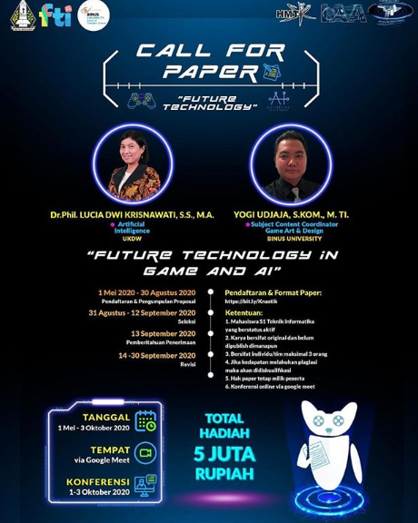 Call for Paper: Future Technology