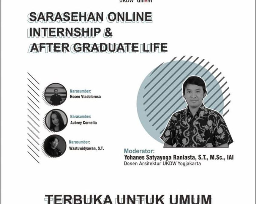 Sarasehan Online: Internship & After Graduate Life