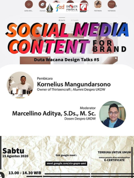 Social Media Content for Brand
