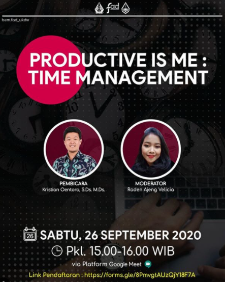 Productive is Me: Time Management