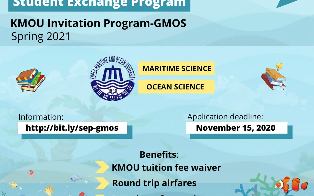 Global Invitation Program in the field of Maritime and Ocean Sciences